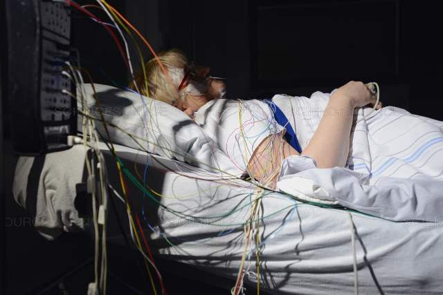 睡眠時無呼吸症候群のPSG検査