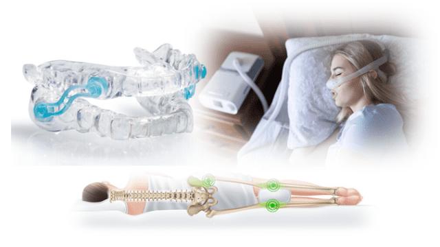 マウスピース・SPAP・寝具による睡眠時無呼吸症候群治療